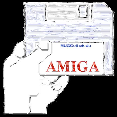 Bild: Logo mit alter Amiga-Hand
