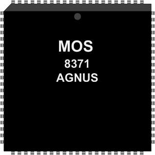 Grafik: Amiga Custom Chip AGNUS (SMD)