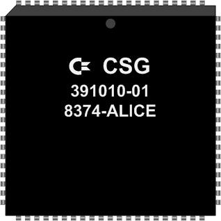 Grafik: Amiga Custom Chip ALICE (SMD)