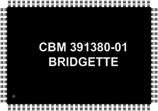 Grafik: Amiga Custom Chip BRIDGETTE (SMD)
