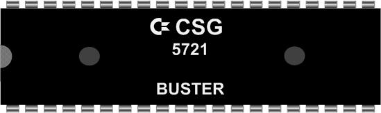 Grafik: Amiga Custom Chip BUSTER (DIL)