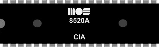 Grafik: Amiga Custom Chip CIA (DIL)