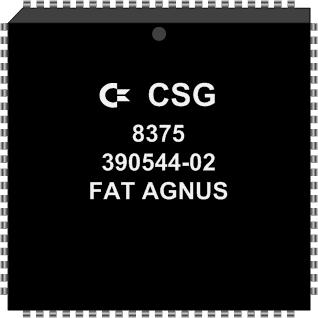 Grafik: Amiga Custom Chip FAT AGNUS (SMD)