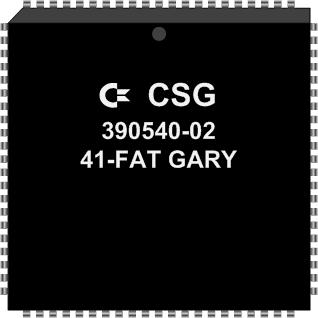 Grafik: Amiga Custom Chip FAT GARY (SMD)