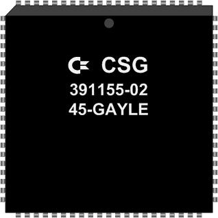 Grafik: Amiga Custom Chip GAYLE (SMD)