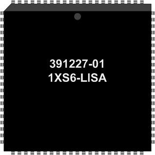 Grafik: Amiga Custom Chip LISA (SMD)