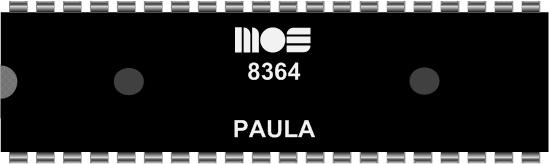 Grafik: Amiga Custom Chip PAULA (DIL)