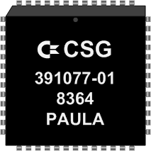 Grafik: Amiga Custom Chip PAULA (SMD)
