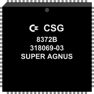 Grafik: Amiga Custom Chip SUPER AGNUS (SMD)