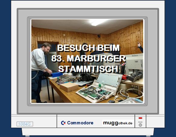 Monitorbild: Besuch beim 83. Marburger Stammtisch