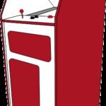 Grafik: Arcadeautomattyp Mini Cabinet (Mini Standardgehäuse)