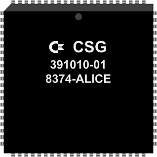 Grafik: Amiga Custom Chip ALICE (SMD)