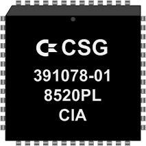 Grafik: Amiga Custom Chip CIA (SMD)