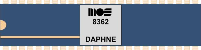 Grafik: Amiga Custom Chip DAPHNE (DIL)