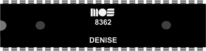 Grafik: Amiga Custom Chip DENISE (DIL)