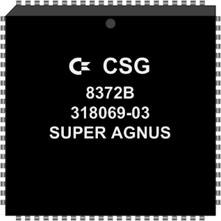 Grafik: Amiga Custom Chip SUPER AGNUS (SMD)