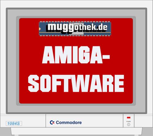 Grafik: 1084S mit muggothek.de AMIGA-SOFTWARE
