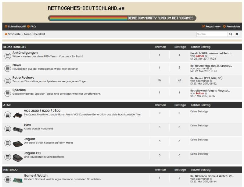 Link-Tipp: Retrogames-Deutschland.de