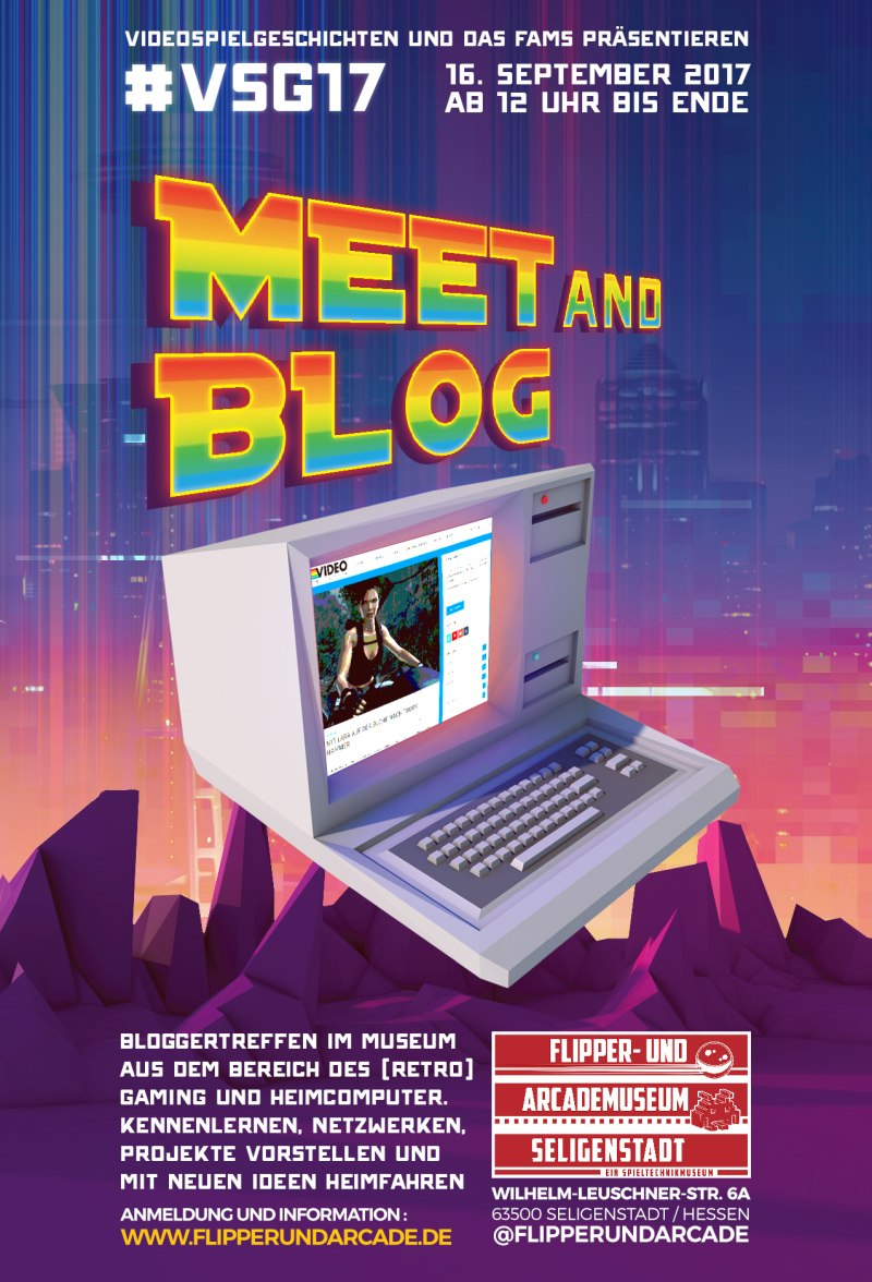 #VSG17 – MEET AND BLOG im FLIPPER- UND ARCADEMUSEUM SELIGENSTADT