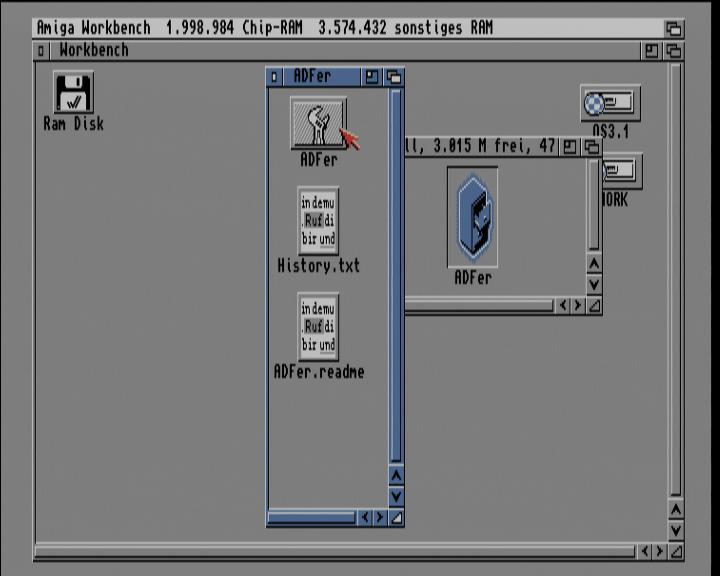 Screenshot Amiga 1200 / WB3.1 - ADF - Programmicon