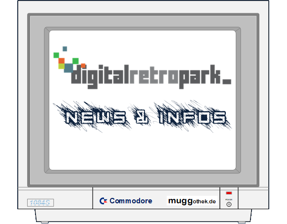 MONITORBILD: DIGITALRETROPARK E.V. NEWS & INFOS