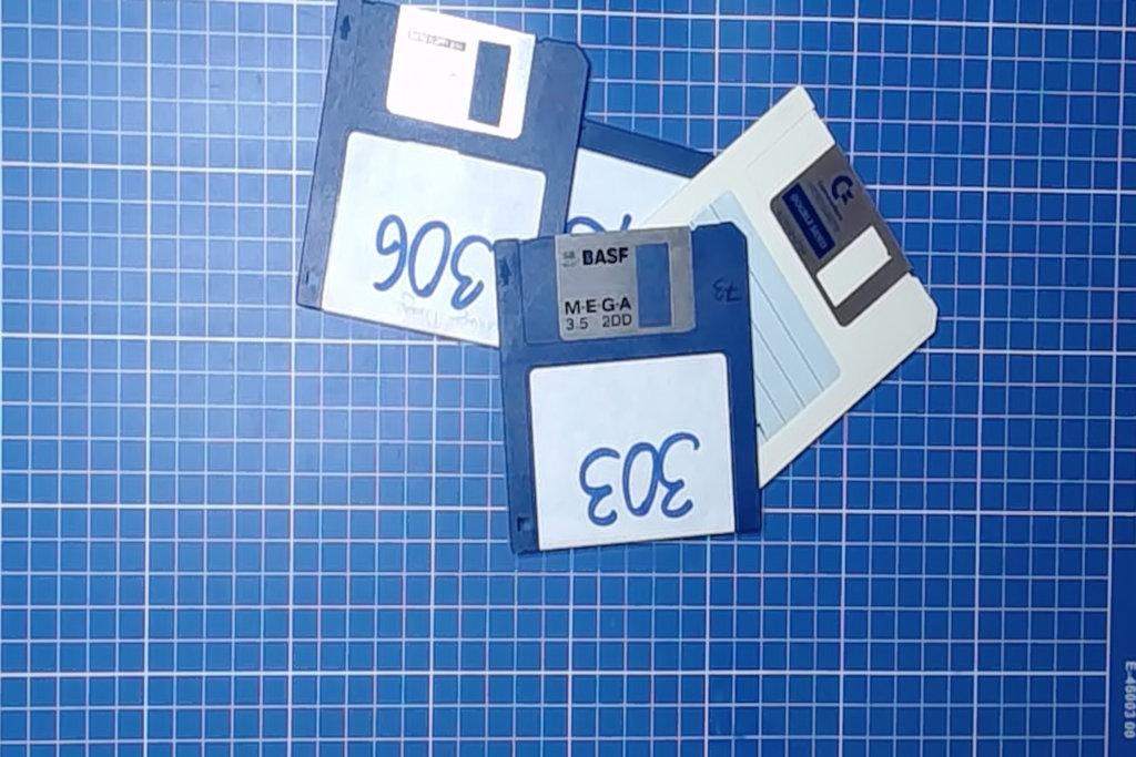 Bild: Disketten