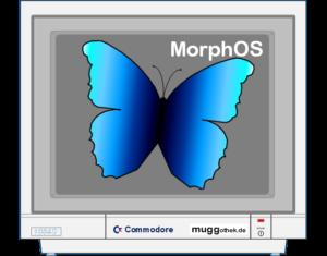Bild: Monitoranzeige mit MorphOS