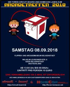 Arcadetreffen 2018 Poster