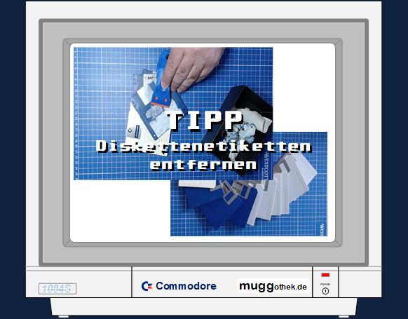 Bild: TIPP Diskettenetiketten entfernen