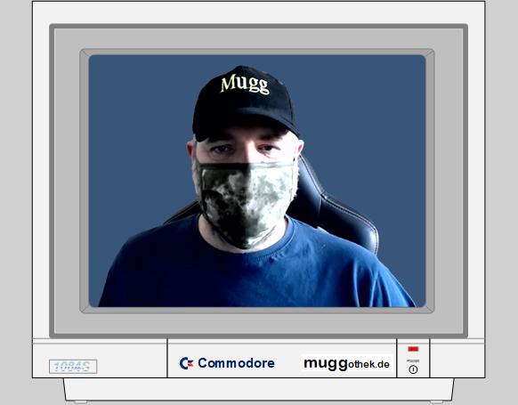 Bild: Mugg mit Maske